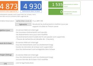 L'interface de mise à jour des données JSON